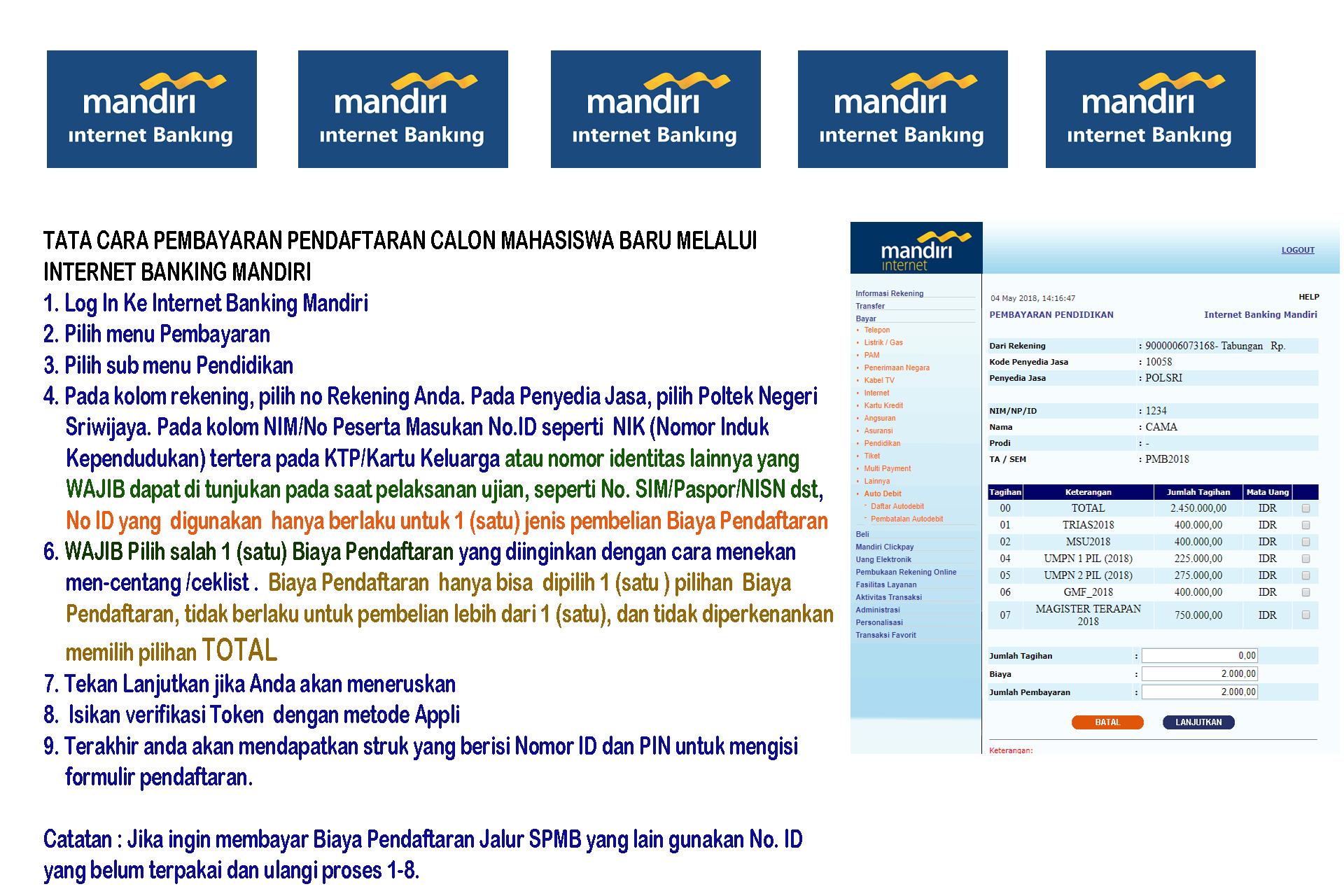 Panduan Umpn Politeknik Negeri Sriwijaya